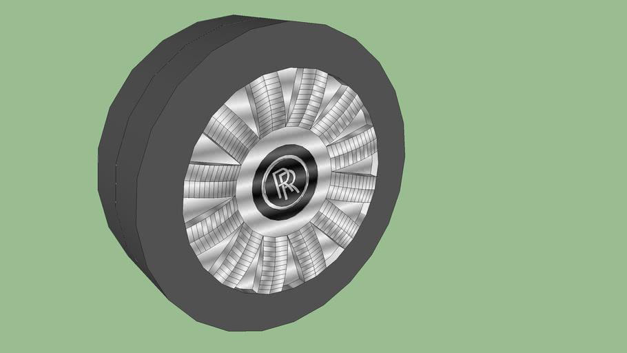 Rolls Royce Tires