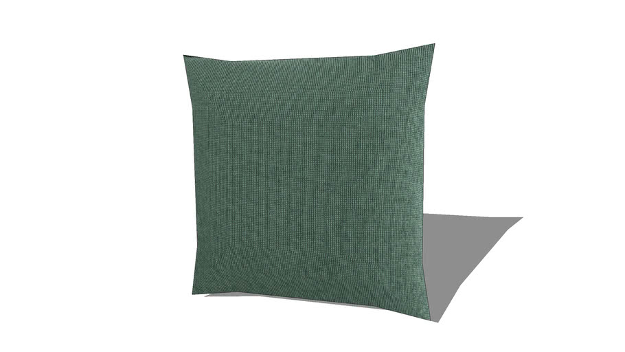 Chenille Coussin vert 60x60 REF 177880 PRIX 25.99€