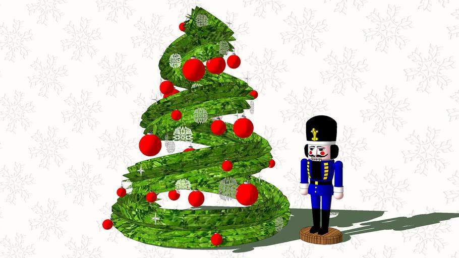 Christmas Tree & Nutcracker