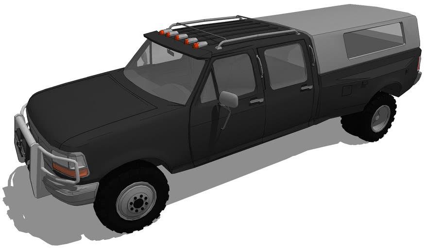 Vehicles - 1992 Ford F-350 Crew Cab