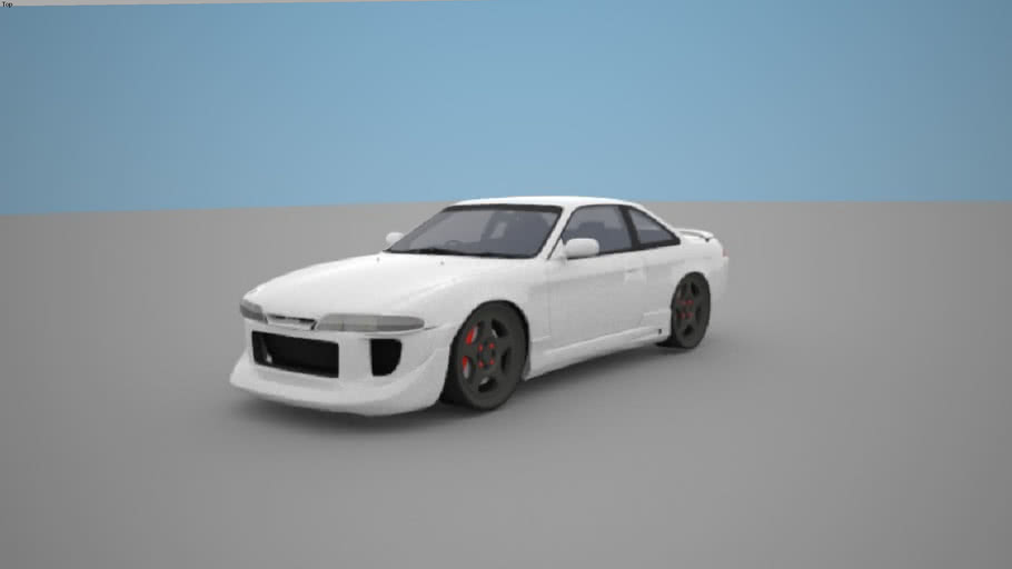 Nissan Silvia S14 tuned