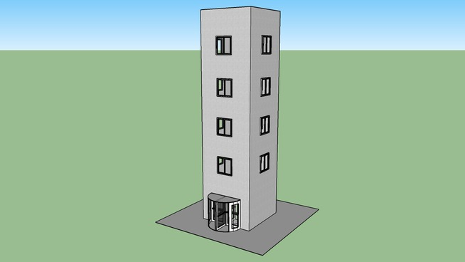 Simple 5 Floor Building