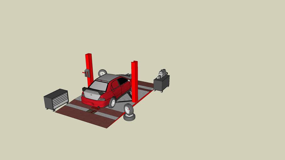 a car lift