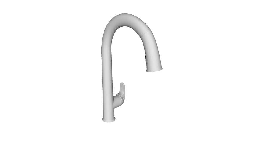 K 72218 Wb Sensate R Kitchen Faucet With Kohler R Konnect Tm And Voice Activated Technology 3d Warehouse