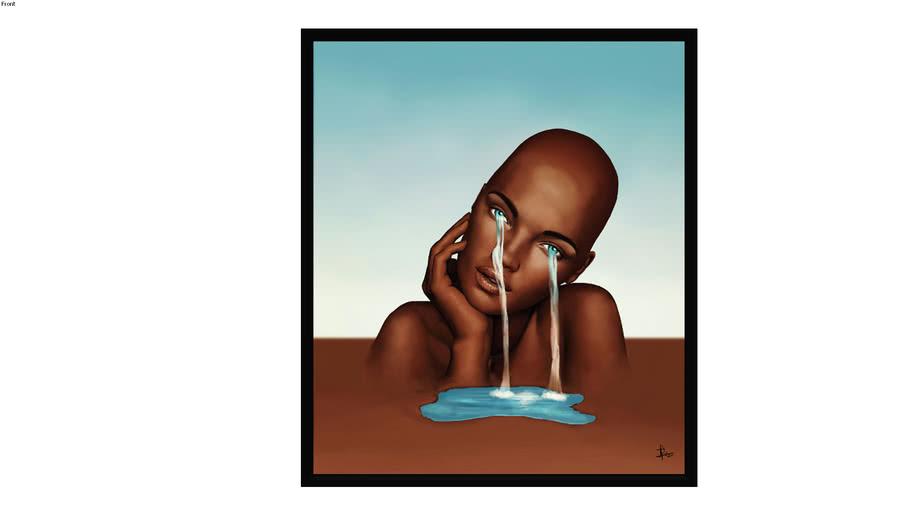 Quadro Olhos D'agua