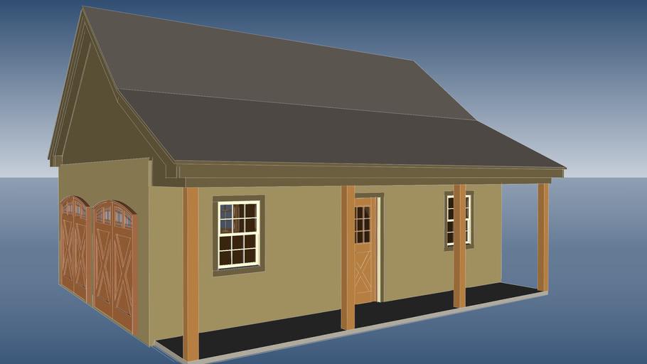 West (proposed garage)