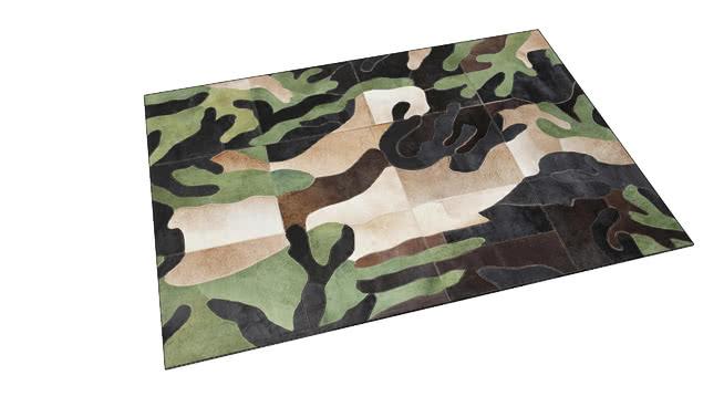 61537 Carpet Camouflage 170x240cm