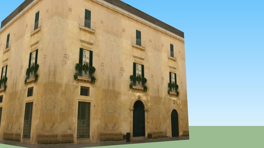 Palazzetto angolo Via Umberto (Lecce)