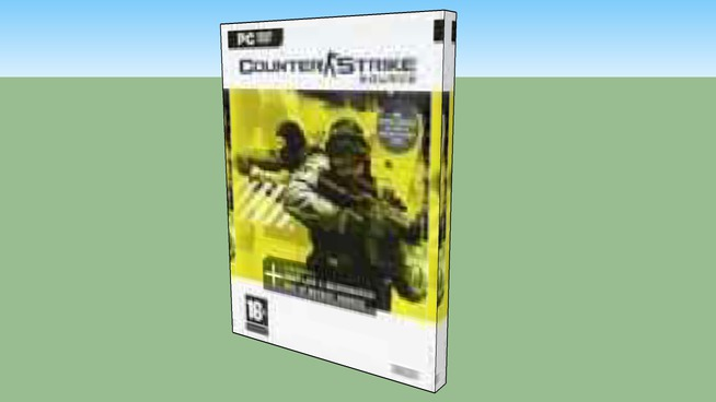 Counter Strike Source Box 3d Warehouse