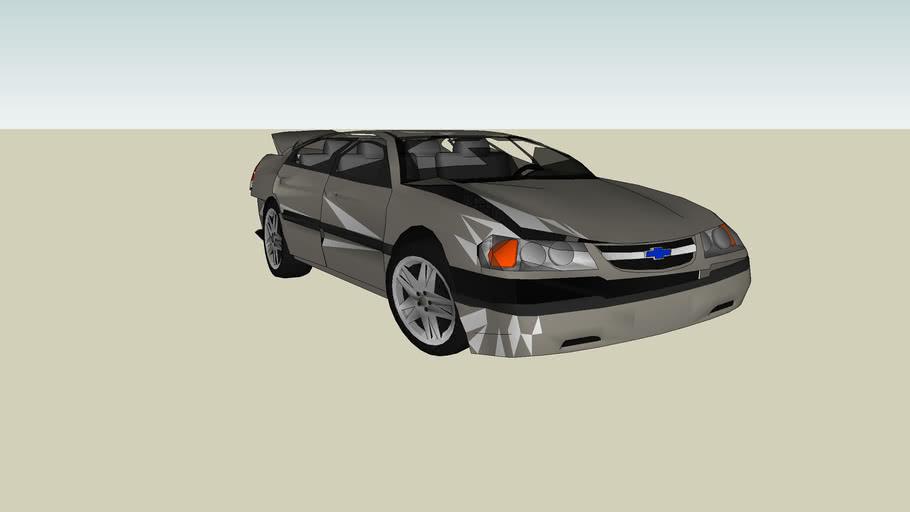 Wrecked Chevy Impala