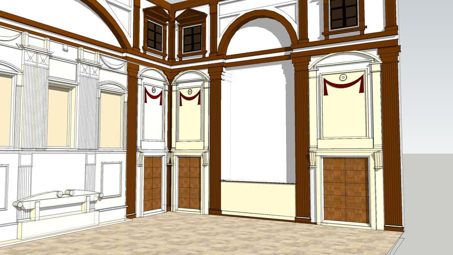The new Sacristy - Medici Chapel