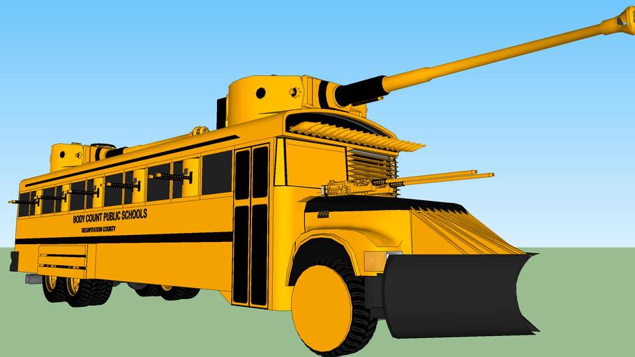 War Wagon- The Death Bus