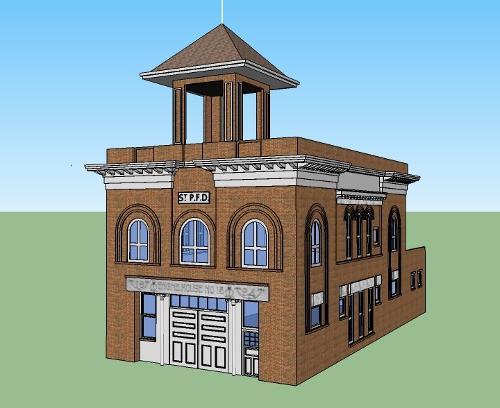 Stn 13(a) - St. Paul Former 1894 Fire Station 13