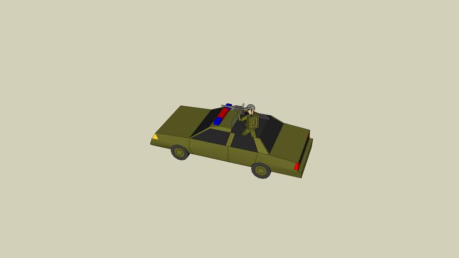 army police car