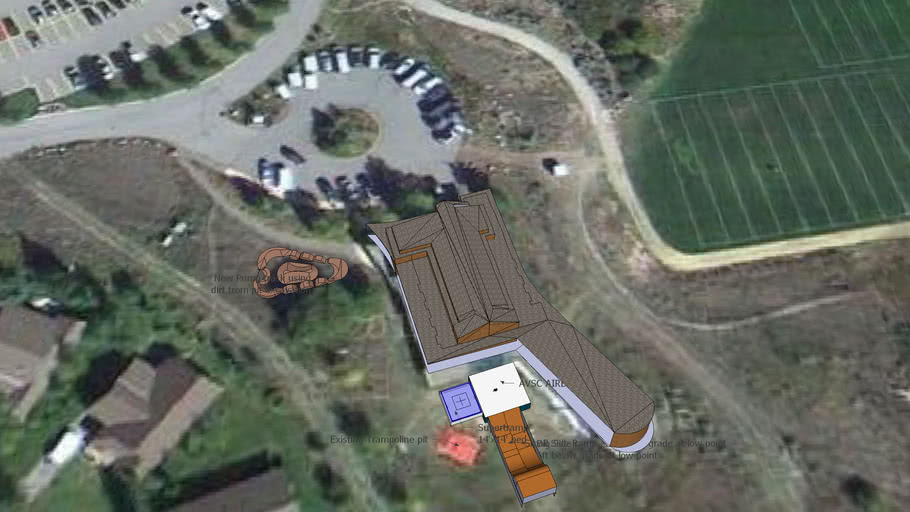 AVSC Clubhouse with New backyard facility installed