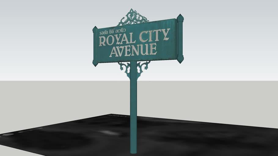 RCA sign at Rama 9 Road