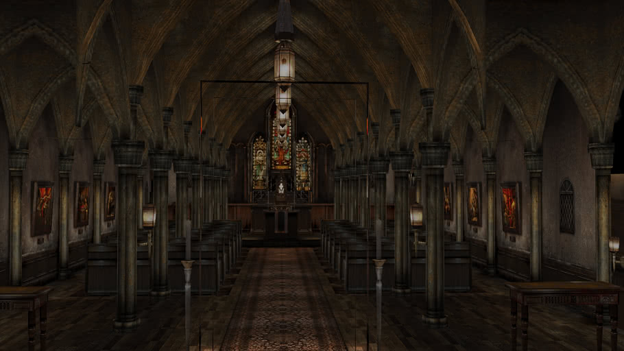 Silent Hill 3 Cathedral 3d Warehouse