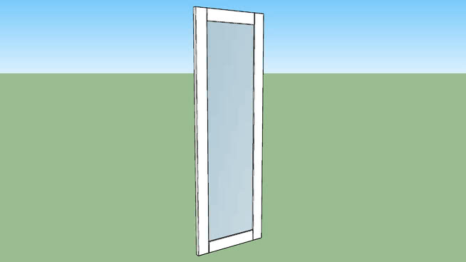 IKEA RIDABU mirror door 120x40