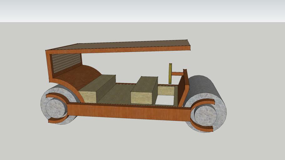 Flintstones Car (190 B.C. Model)