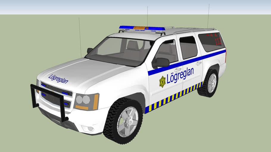 Chevrolet Suburban Police car (Lögreglubíl)