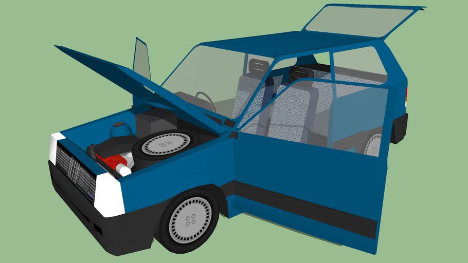 Fiat Panda (full detail)