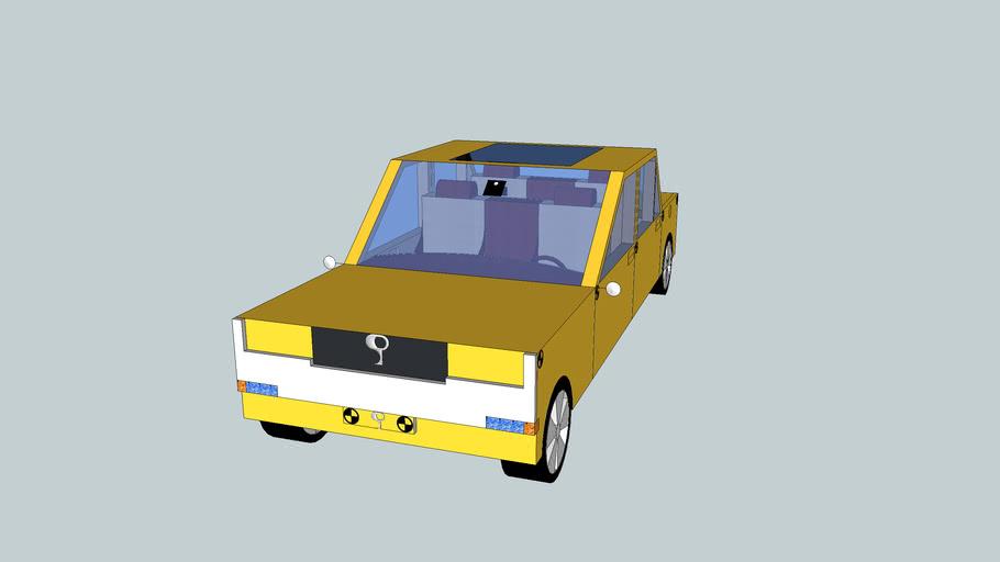 SP Classic crashtest voertuig