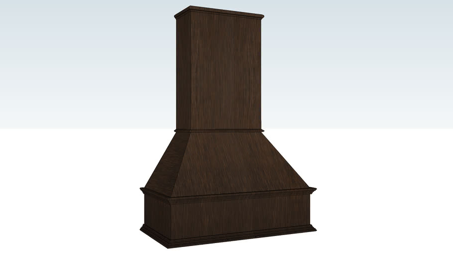 """Wood Hood Straight Valance - 36"""""""