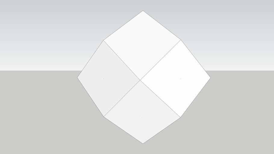 菱形12面體(Rhombic dodecahedron)