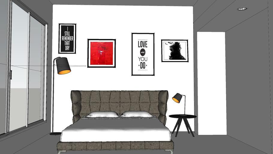 Escena habitación interior
