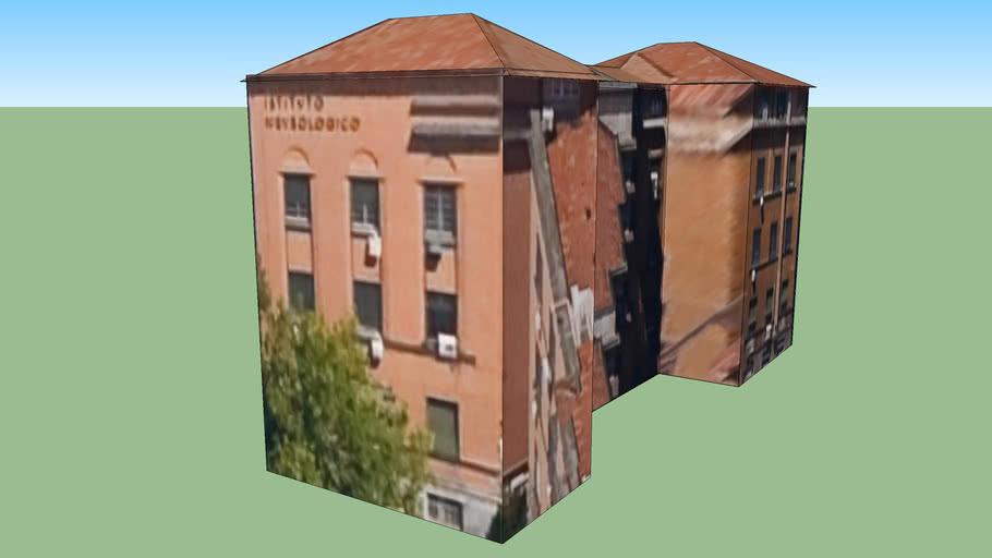 Building in Milán, Italia