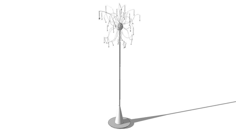 Lampadaire Spoutnick Chic, Maisons du monde, réf 105578, prix 219.00€
