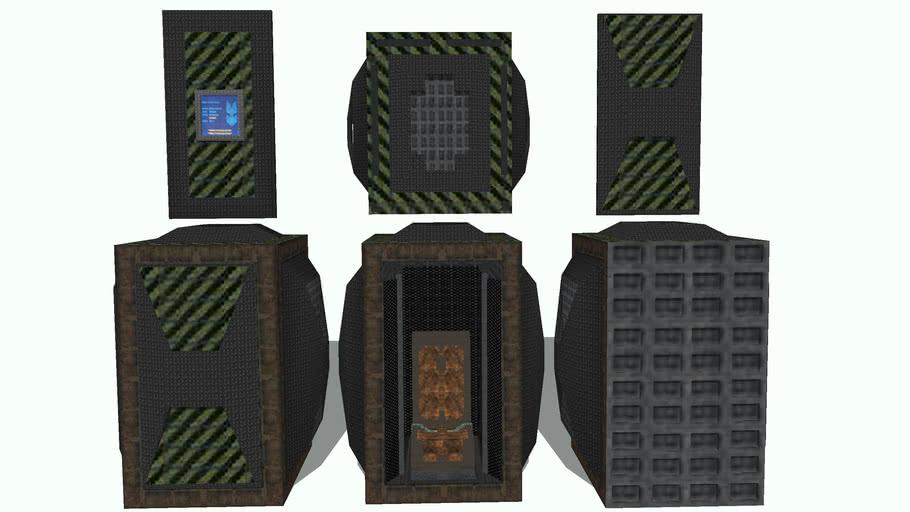 Halo Drop Pod Concept