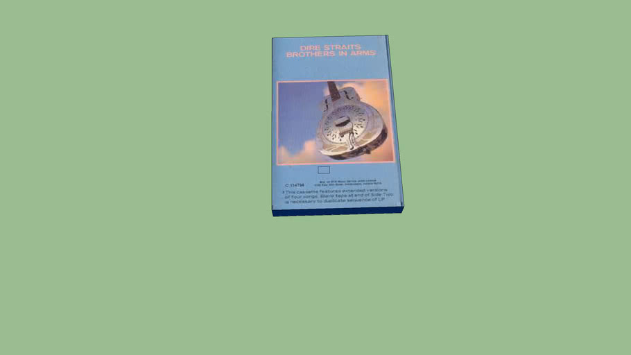 Dire Straight Brothers in arms Cassette