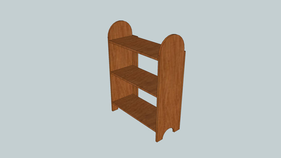 Simple Shaker Shelves from Popular Woodworking Magazine April 2007 Issue