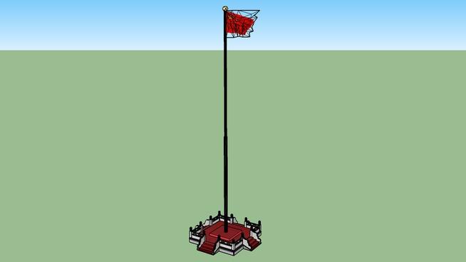 中华人民共和国国旗 The flag of the People's Republic of China