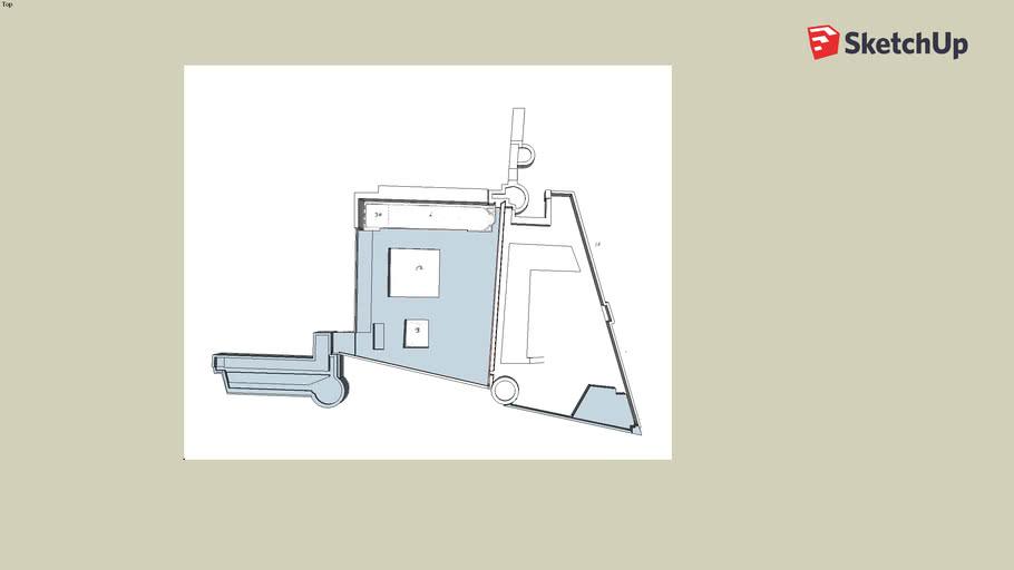 Castello del Carmine puzzle 3D v3