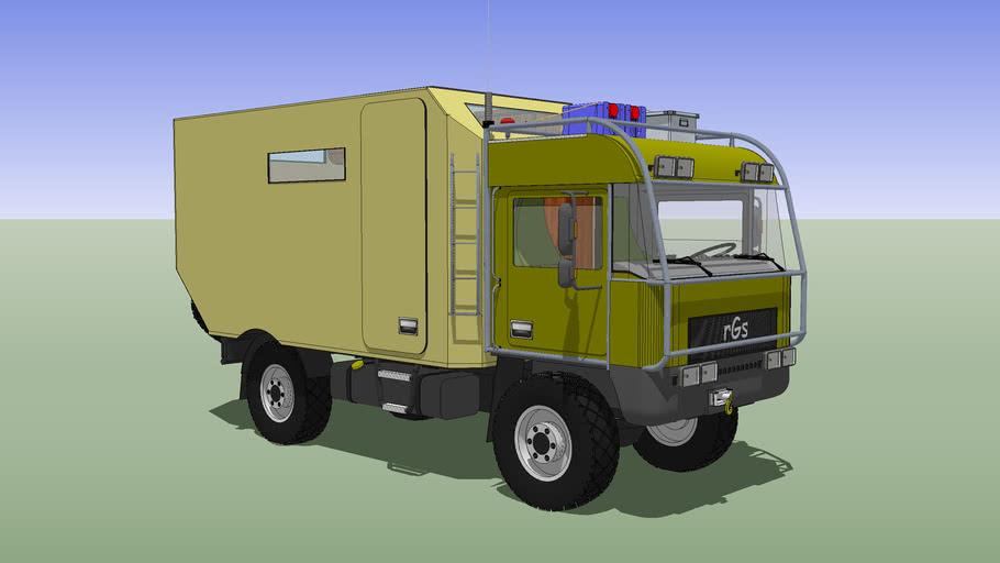 Camper Truck, rGs 4x4