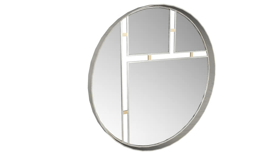 83257 Mirror Modern Art 107cm