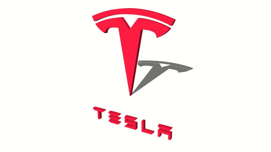 Tesla Logo | 3D Warehouse