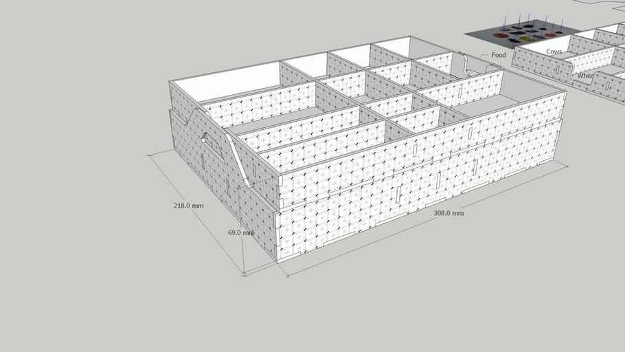 Caverna Storage Box - 3mm