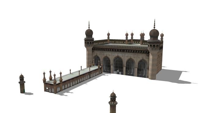 Mecca Masjid,Hyderabad | 3D Warehouse