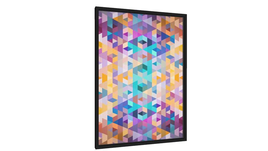 Quadro Vivid Pattern III - Galeria9, por Art Design Works