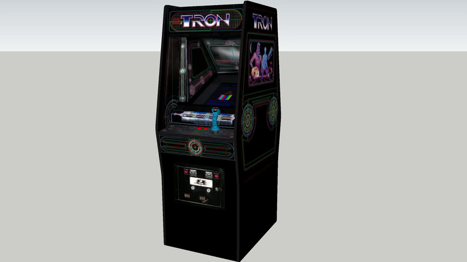 Tron arcade game Rev.2