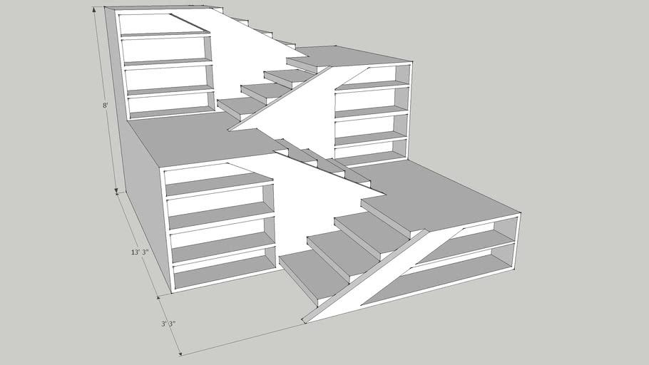 8' Stair case