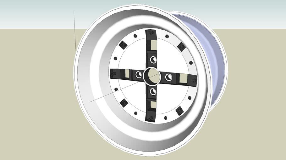 HOSHINO RACING Impul Sillhoette D01 15x10  Alloy Wheel
