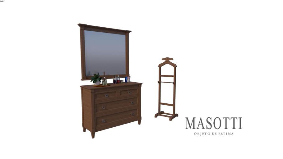 Cabideiro Coleção Masotti Ref MAS.239.0 F15