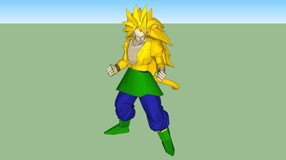 Goku SuperSaiyayin 6 versión 2