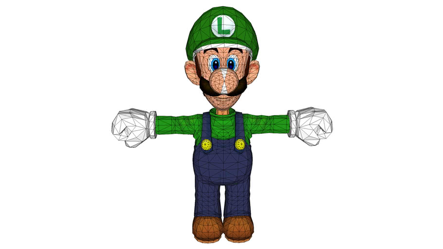 Luigi (Ripped from SMG2)