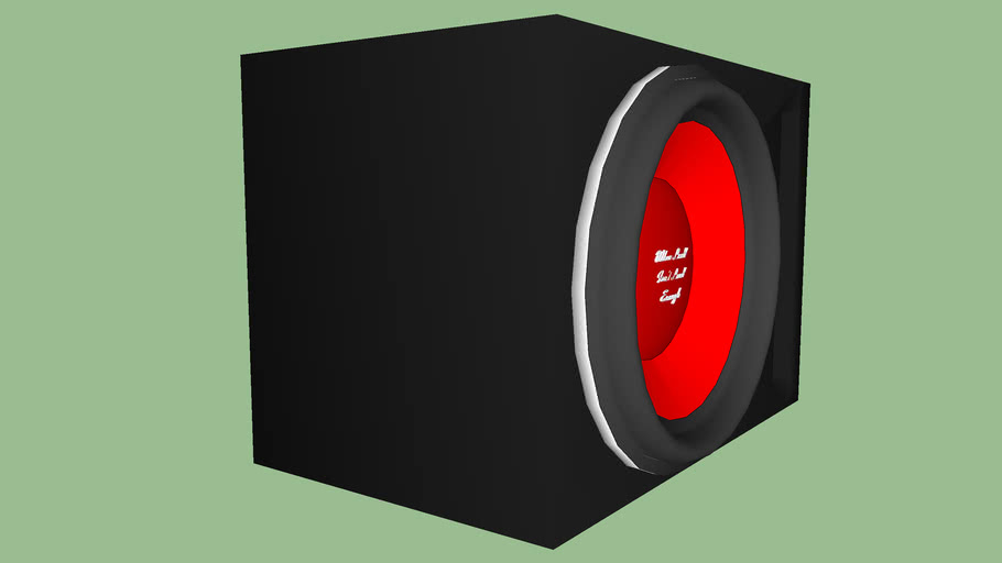 """22"""" Subwoofer in box"""