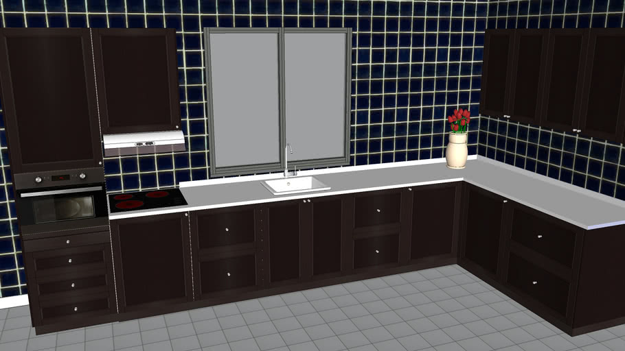 Ikea Cuisine Metod Kitchen 3d Warehouse